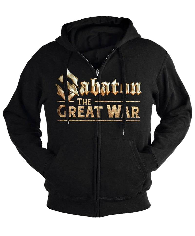 Mikina se zipem Sabaton - the Great War Imp.