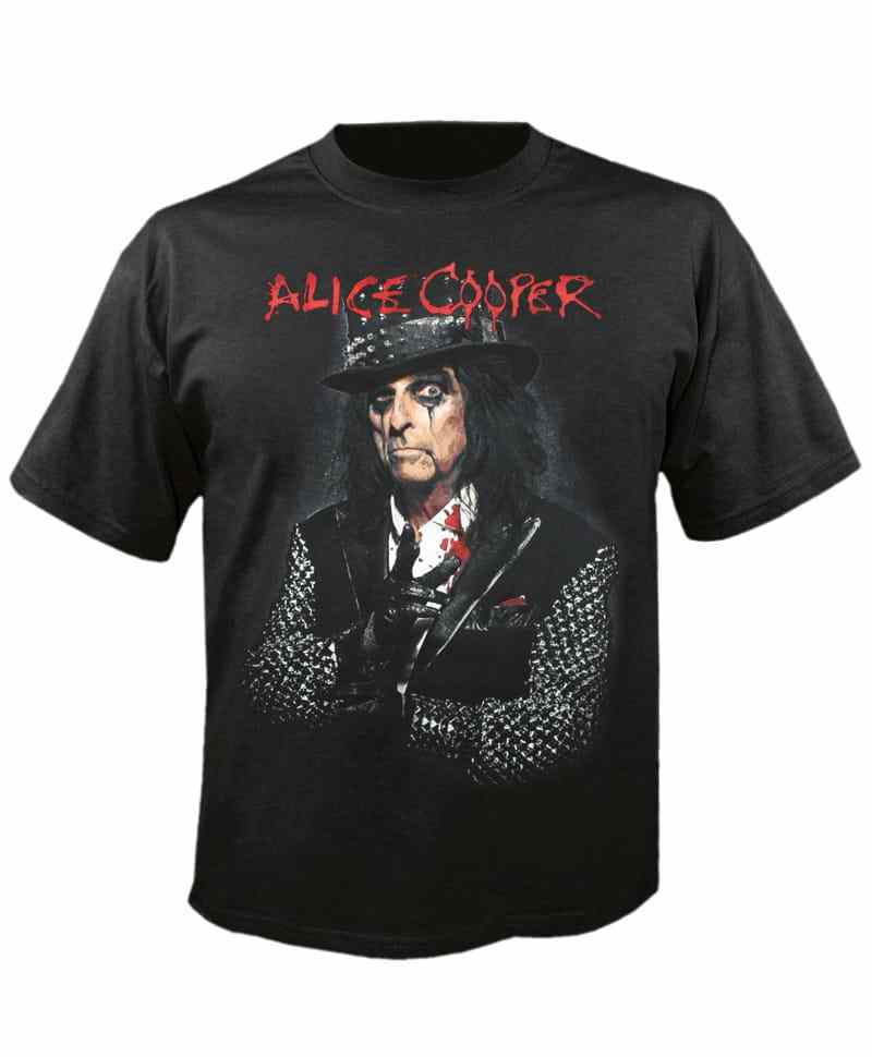 Tričko Alice Cooper - photo Imp.