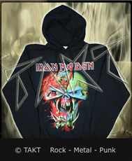 Mikina klokan Iron Maiden - Final Frontier - Head Imp.