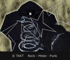 Mikina se zipem Metallica - Black Album Tour 2012
