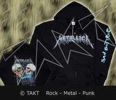 Mikina se zipem Metallica - Sad But Fckdup