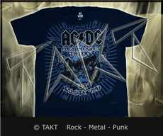 Tričko AC/ DC - For Those About To Rock 2 Navy Imp.