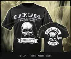 Tričko Black Label Society - worldwide Imp.
