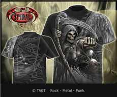 Tričko Death Angel Wrap Imp.  All Print