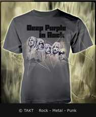 Tričko Deep Purple - deep Purple In Rock 2 Grey Imp.