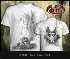 Tričko Enslaved Angel White T - Shirt Imp.