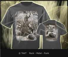 Tričko Helloween - my God Given Right 2 Imp.  Grey