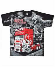 Tričko Keep On Truckin All Print