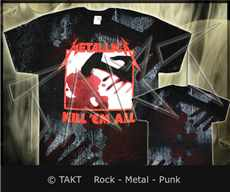 Tričko Metallica - kill em All 2 All Print Imp.