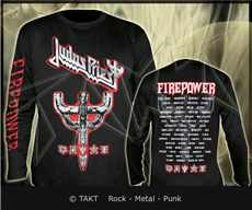 Tričko s dlouhým rukávem Longsleeve Judas Priest - graphic Emblem City All Print Imp.