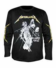 Tričko s dlouhým rukávem Longsleeve Metallica - and Justice For All - ...