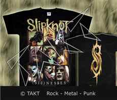 Tričko Slipknot - Sic Nesses all Print Imp.