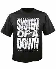 Tričko System Of A Down - Distressed Logo Imp.