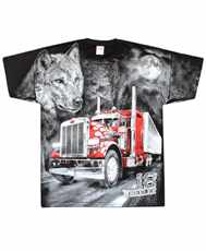 Tričko Trucker All Print