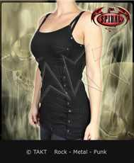 Tunika Lace Up Camisol  - Imp.  Spiral Direct