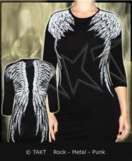 Tunika - Longsleeve 3/ 4 Wings All Print