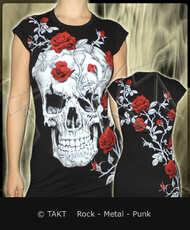 Tunika Skull Roses All Print