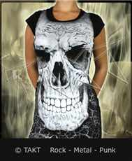 Tunika Skull White