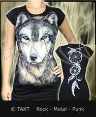 Tunika Wolf 2 All Print